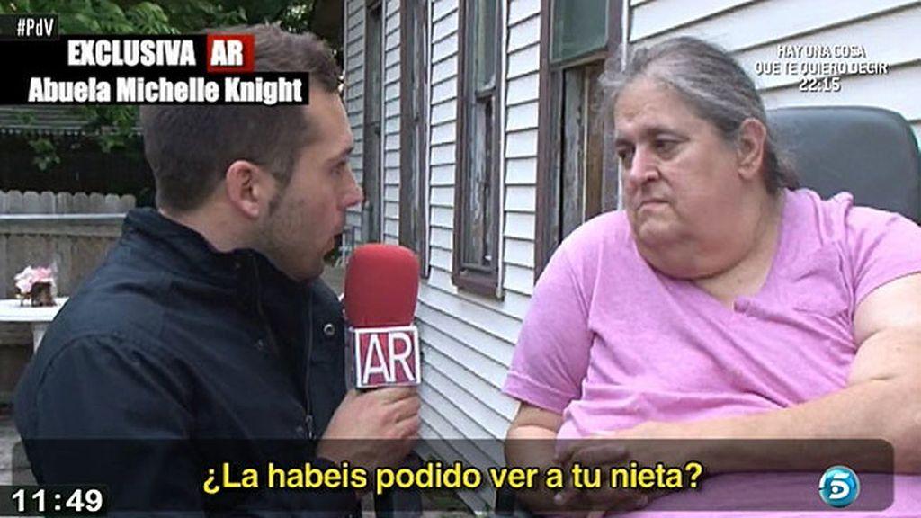 """La abuela de Michelle Knight: """"Quiero saber que estás bien porque te quiero"""""""