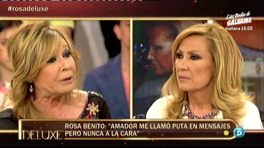 """Mila Ximénez, a Rosa: """"A Amador lo habéis jodido completamente"""""""