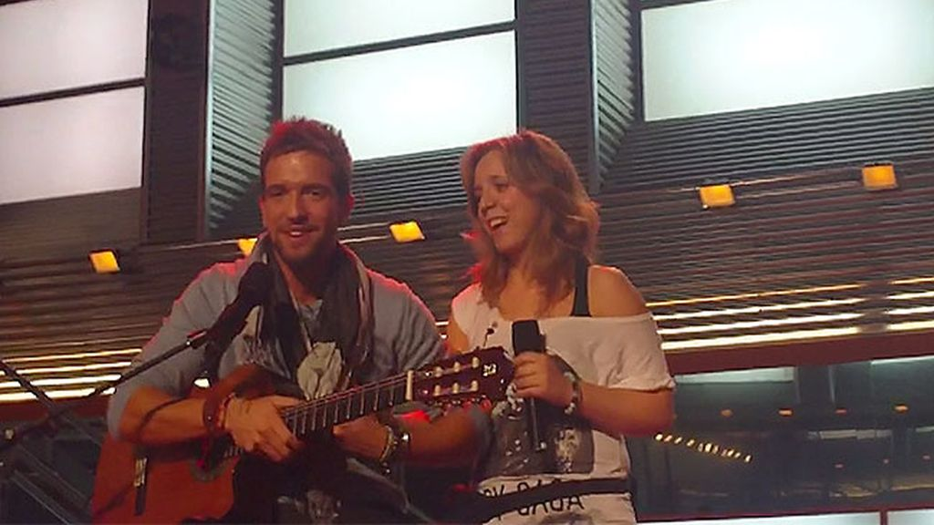 Coraluna y Pablo Alborán