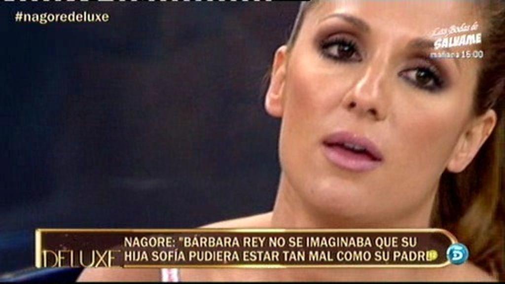 """Nagore: """"Bárbara Rey se siente culpable"""""""