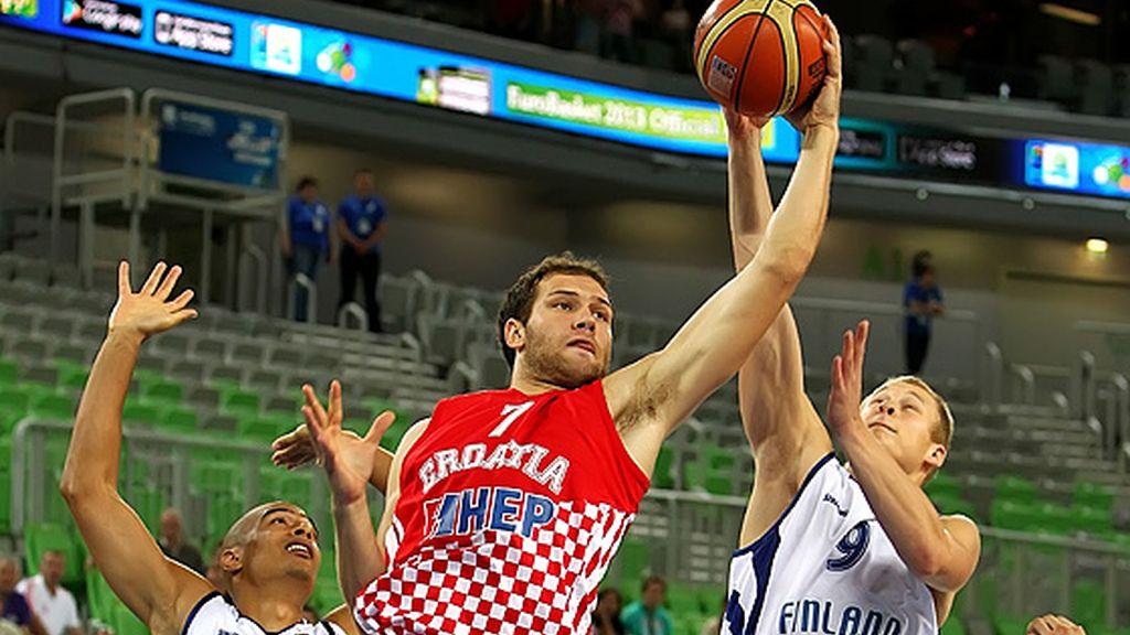 El juego de Croacia acaba con Finlandia