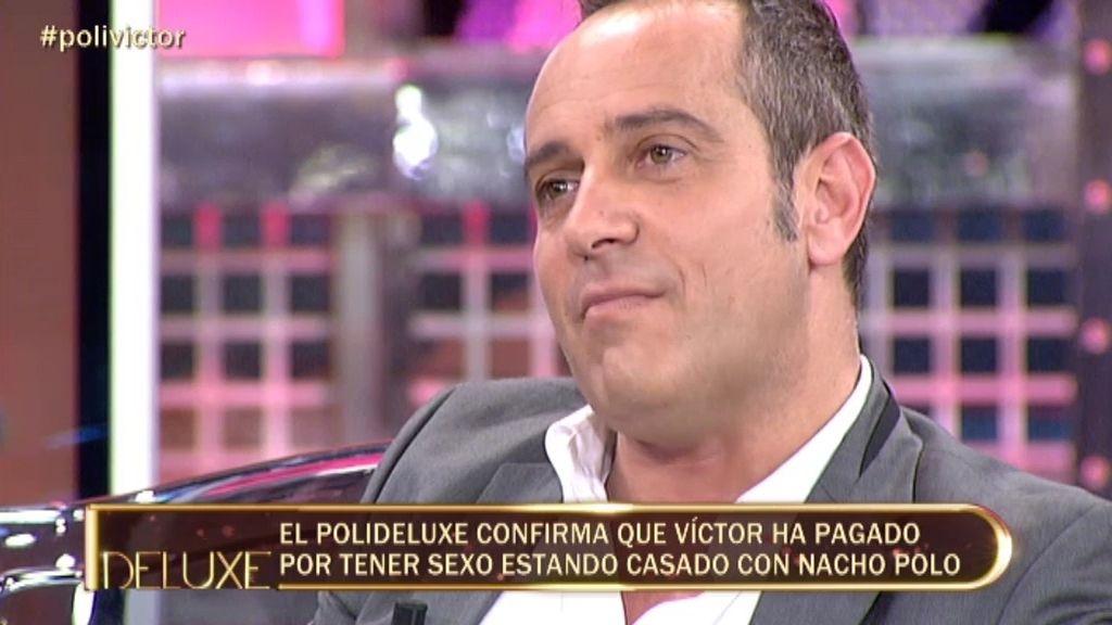 Víctor Sandoval ha pagado por sexo estando casado con Nacho Polo
