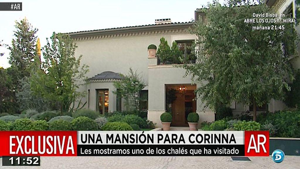 Una mansión para Corinna: así es una de las casas que ha visitado en Madrid
