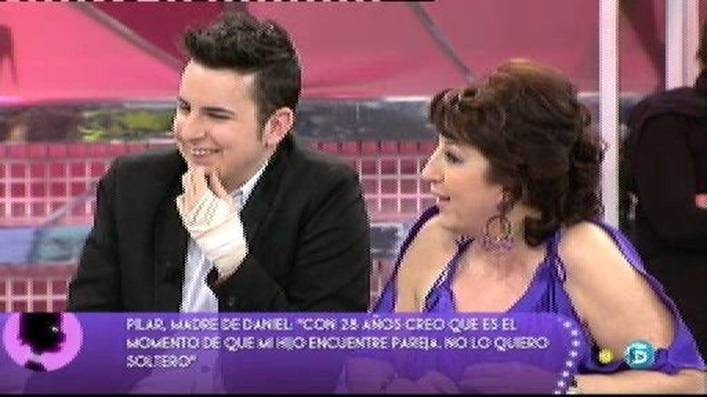 La madre de Daniel quiere ser colaboradora de televisión