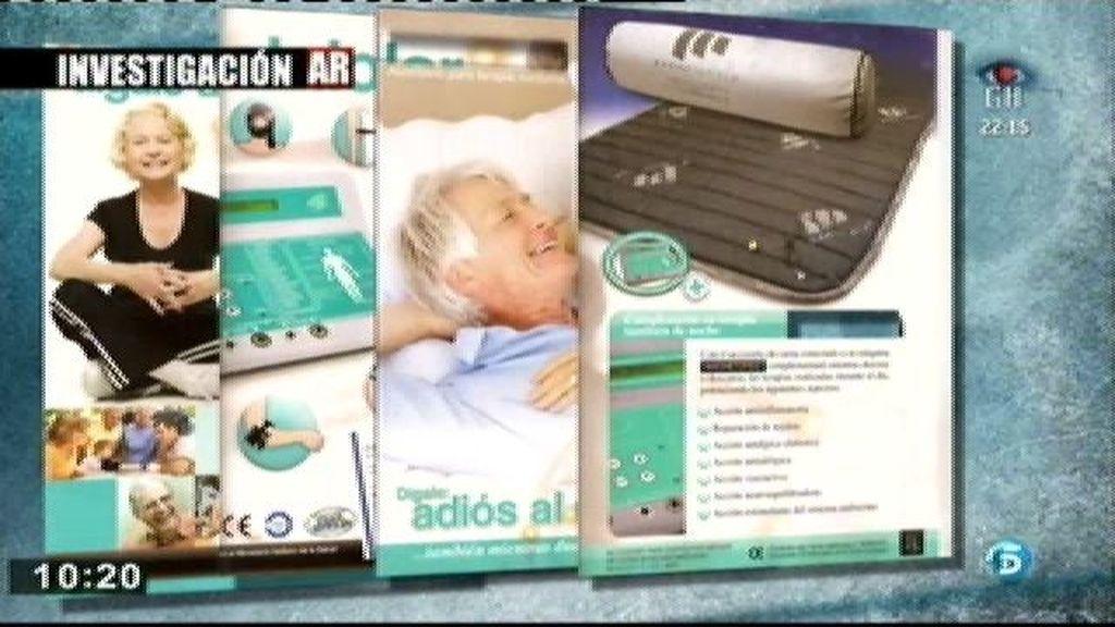 Los comerciales de las empresas de magnetoterapia tratan de pasar por médicos especialistas
