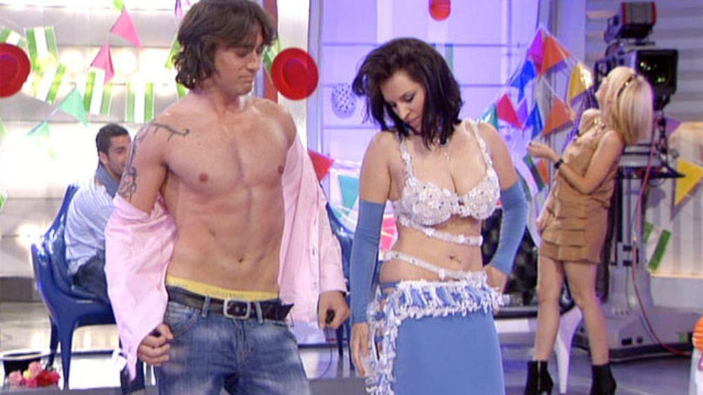 Cristina baila para Reche