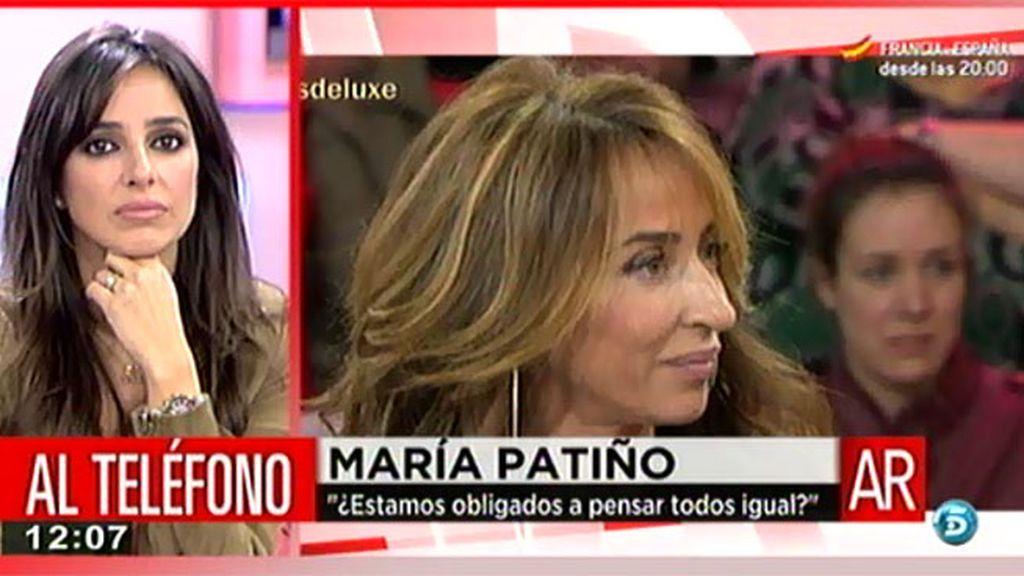 """María Patiño: """"No me he saltado ninguna norma ética ni moral"""""""
