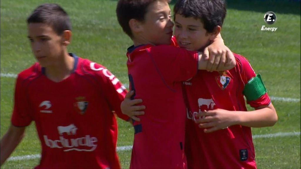 Gol: Real Madrid 0-1 Osasuna (min. 01)