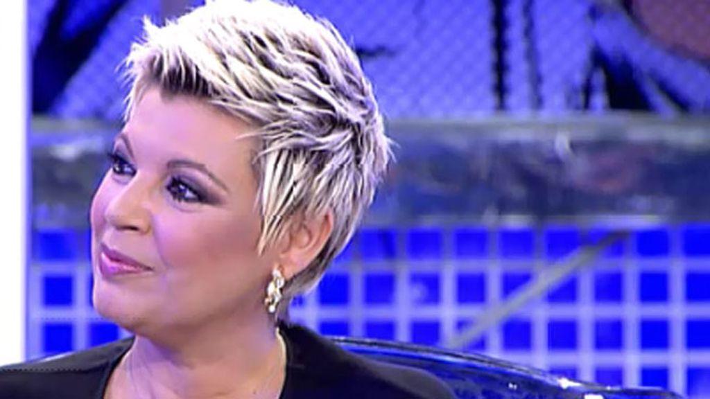 Terelu no se considera mejor presentadora que J.J. Vázquez, pero tampoco peor