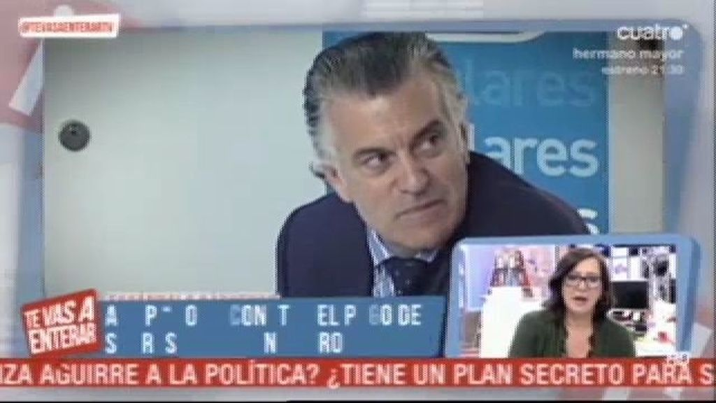 """Al Partido Popular no le """"consta"""" el pago de sobresueldos en negro de Bárcenas"""