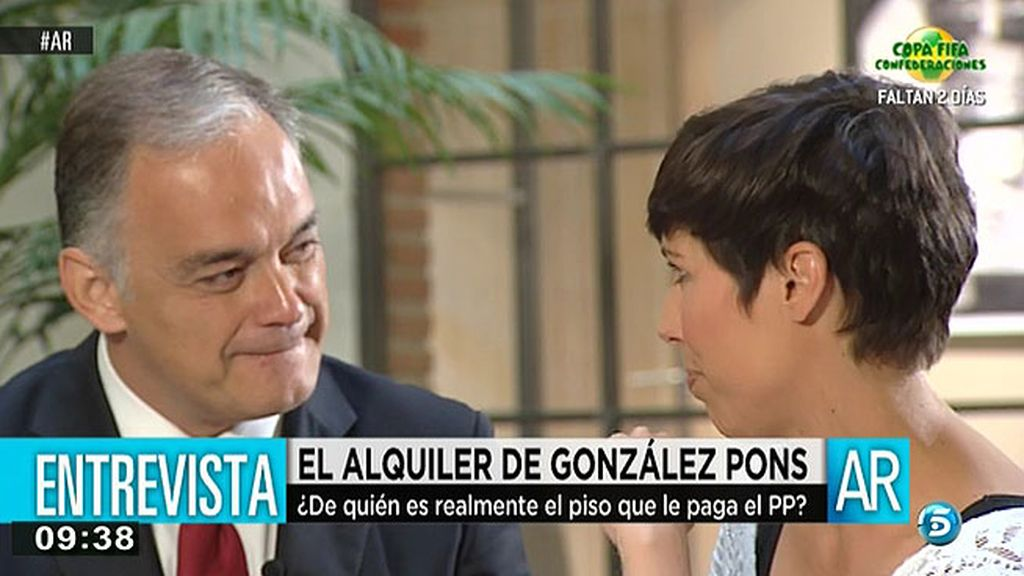 """González Pons:""""Aznar tiene que recordarnos dónde está el norte para que no perdernos"""""""