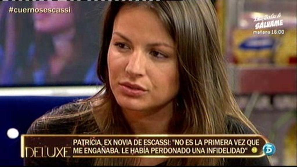"""Patricia, ex de Escassi: """"Estoy dolida, Álvaro me dijo que no había nada con Sonia"""""""