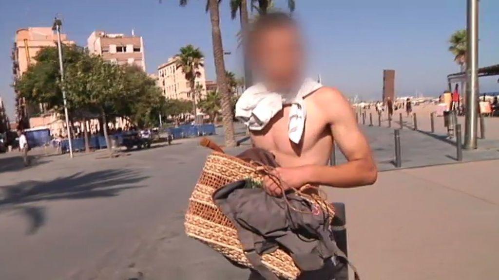 Robos entre tumbonas y baños en el Mediterráneo