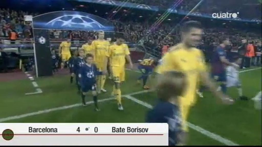 Barcelona 4 - 0 Bate