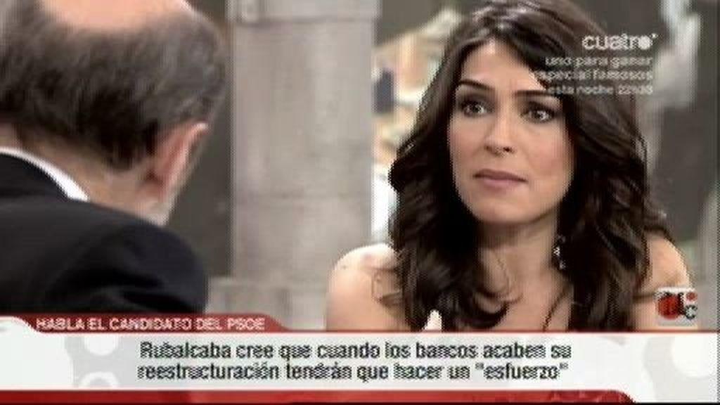 Rubalcaba considera a Zapatero un hombre honesto