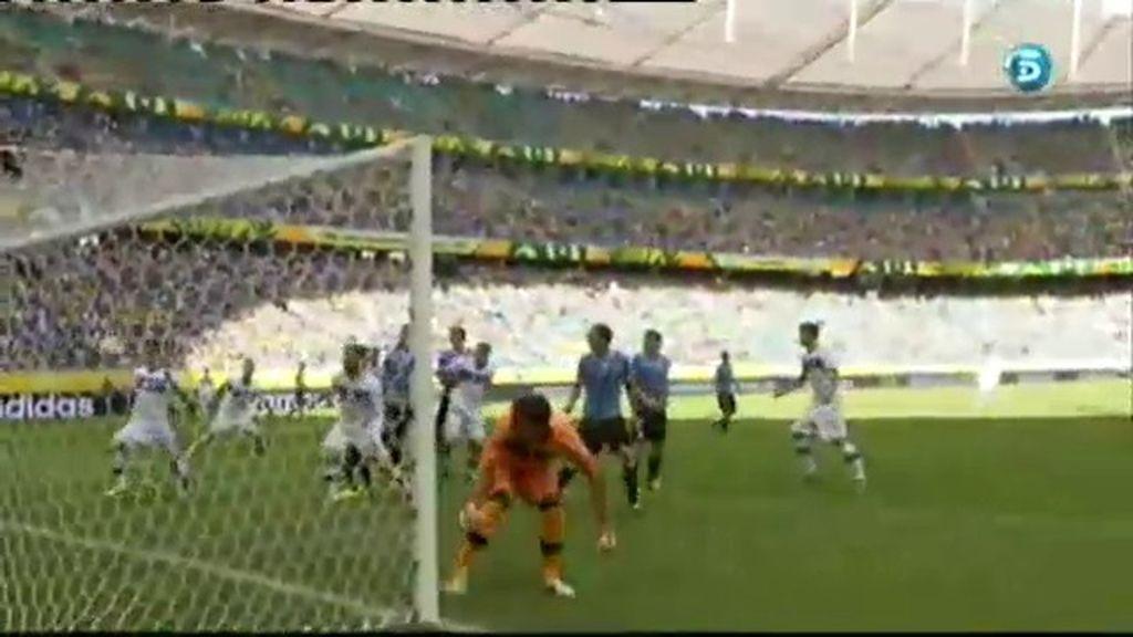 Gol: Uruguay 0-1 Italia (min.24)