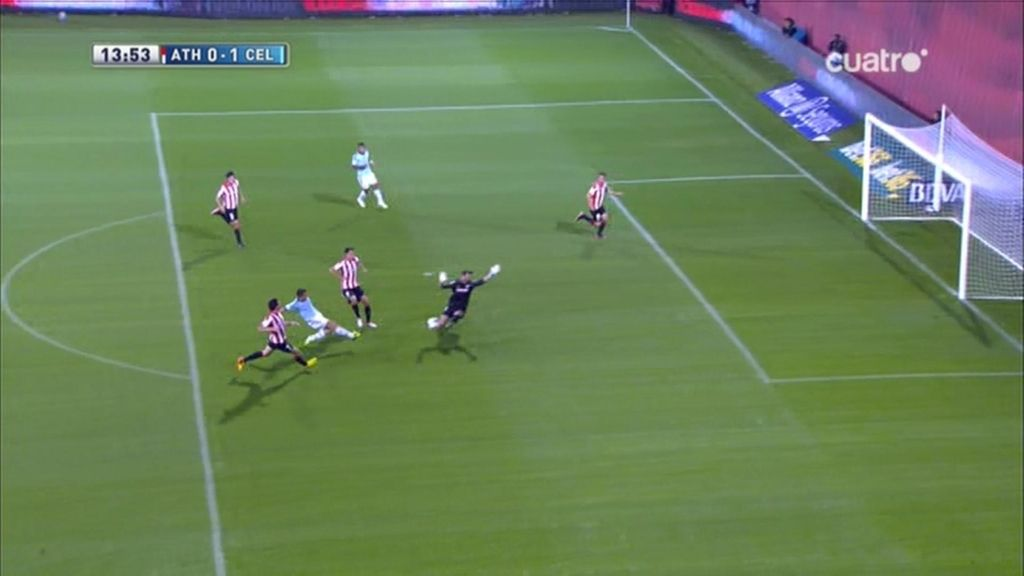 Gol de Charles (Athletic 0-1 Celta)