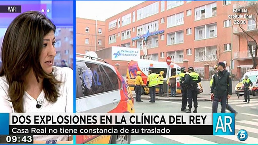 """Jano Mecha: """"El Rey no ha sido evacuado"""""""