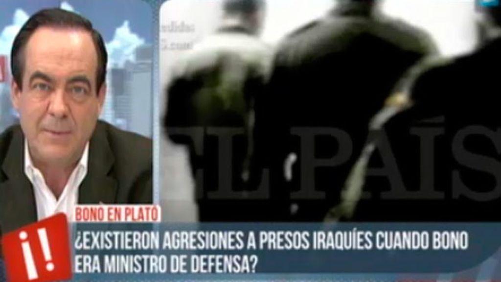José Bono, sobre el vídeo de los abusos de soldados españoles a los prisioneros en Iraq