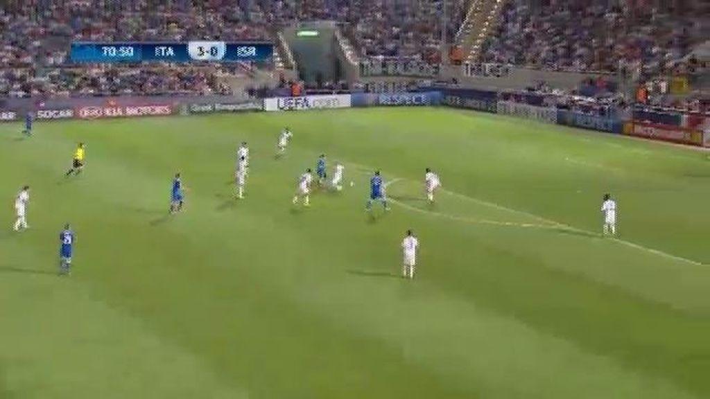 Gol: Italia 4 - 0 Israel 0 (min. 71)
