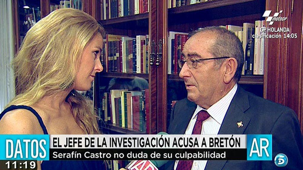 Serafín Castro, el jefe de la investigación del caso Bretón, no duda de la culpabilidad del padre