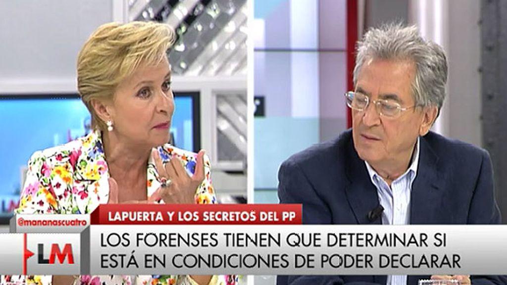 """Carmen Quintanilla: """"Se verá que no hay financiación irregular, no hay contabilidad B"""""""
