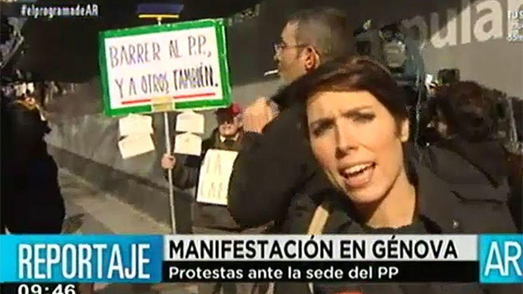 Algunos medios fueron vetados en la rueda de prensa de María Dolores de Cospedal