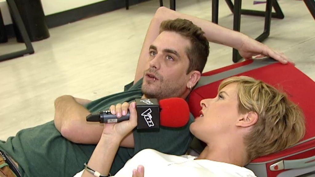 """Raúl Pulido: """"No canto porque me guste cantar, canto porque lo necesito"""""""