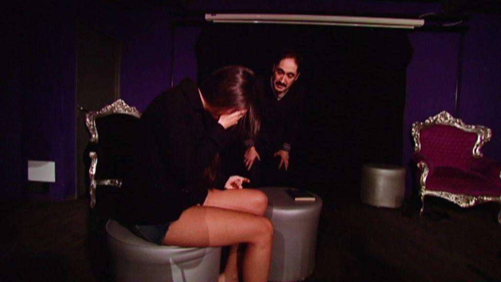 Laura Vittoria se derrumba en su prueba con el actor Alfonso Lara