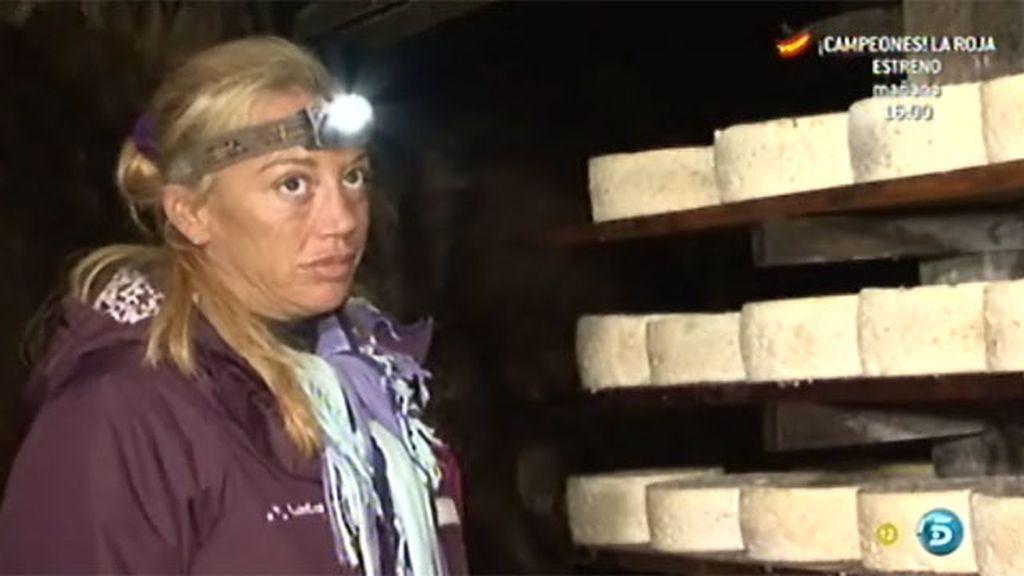 Belén descubre dónde se elaboran los quesos de cabrales