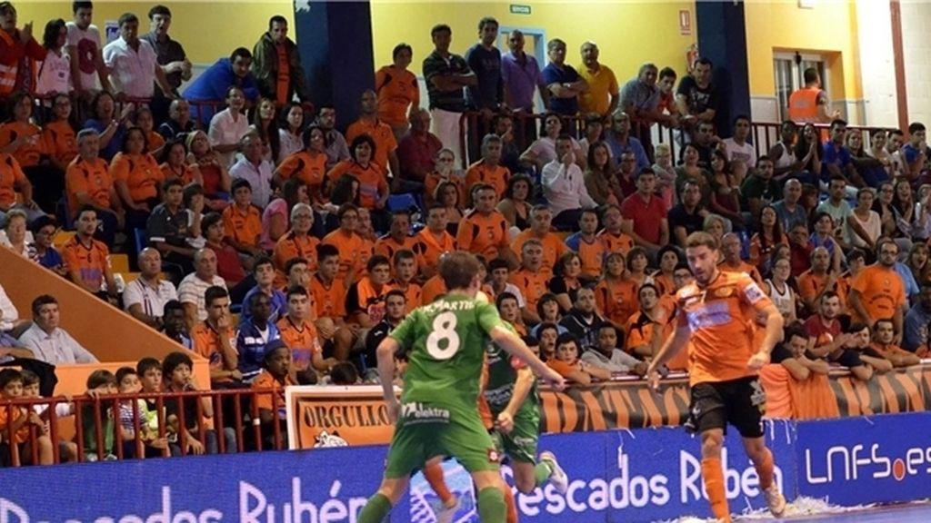 El Xota Navarra se lleva los tres puntos de Vista Alegre ante el Burela (1-2)