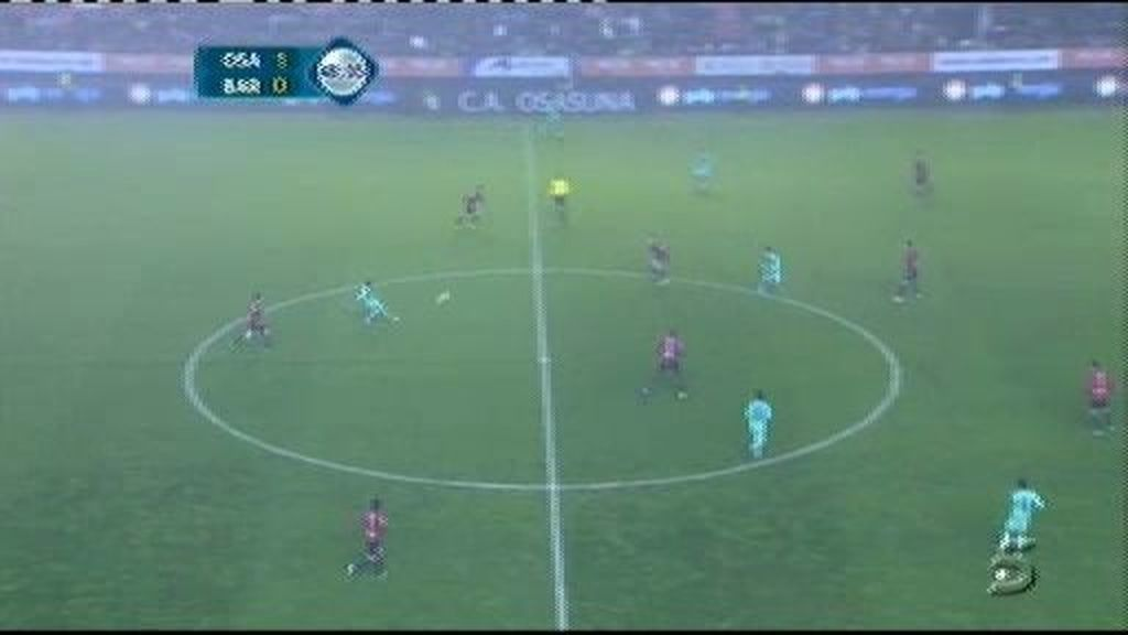 Osasuna 1 - 1 Barcelona: Alexis