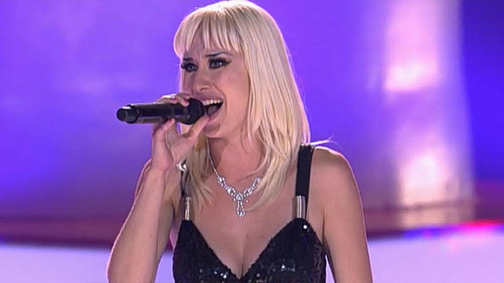 La actuación de Freya: 'All by myself'