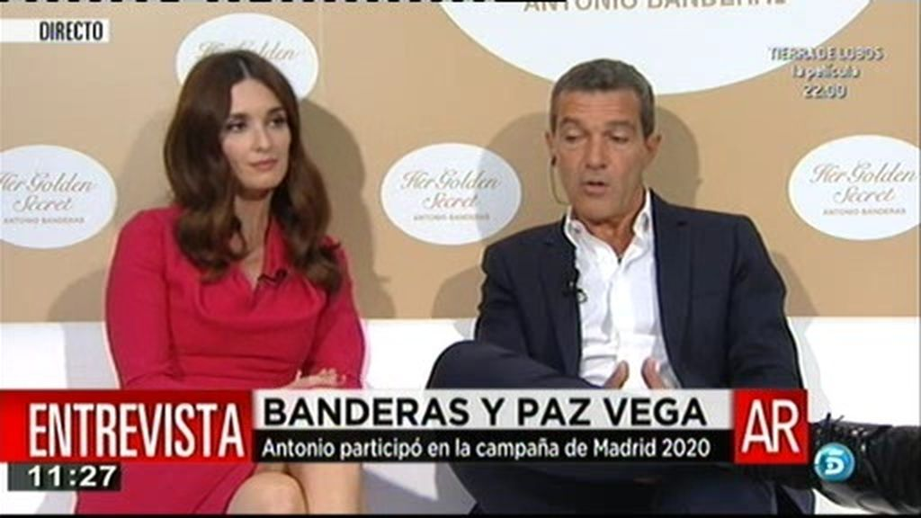 """Antonio Banderas: """"Los políticos tendrían que hablar bien inglés"""""""