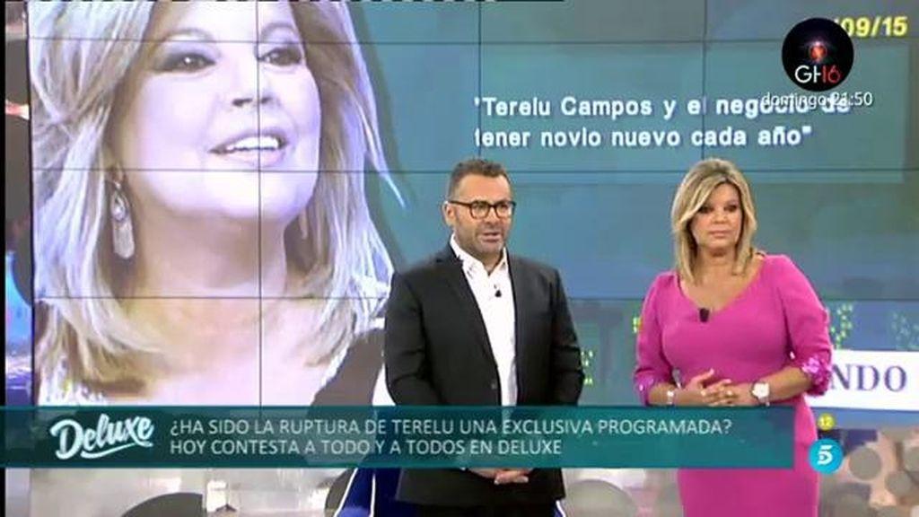 La respuesta de Terelu Campos a las portadas de las revistas sobre su ruptura
