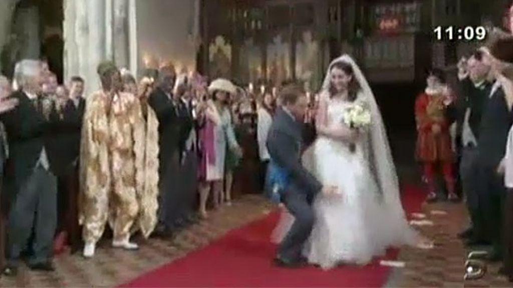 La divertida boda real británica