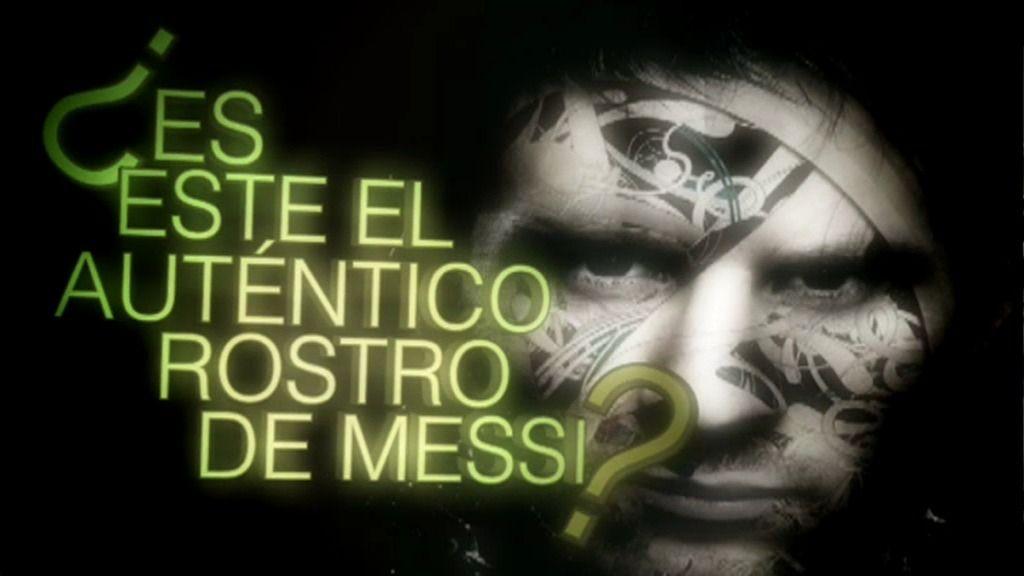 ¿El auténtico rostro de Leo Messi?