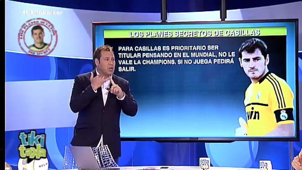 "E.Marqués: ""Si Iker sigue siendo suplente pedirá salir para ir al Manchester United"""