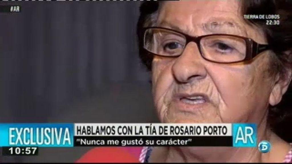 """La tía de Rosario Porto: """"No me gustó su carácter"""""""