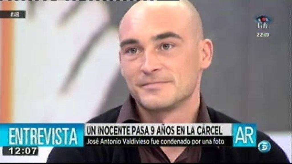 """José Antonio Valdivieso: """"Cuando vi a mi padre llorar pensé que tenía que seguir"""""""