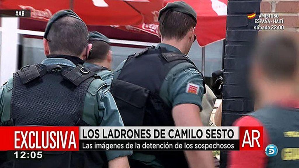 Registran las casa y los locales de los asaltantes de la casa de Camilo Sesto