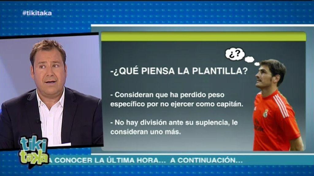 """Enrique Marqués: """"Para la plantilla del Real Madrid, Casillas ha perdido jerarquía"""""""