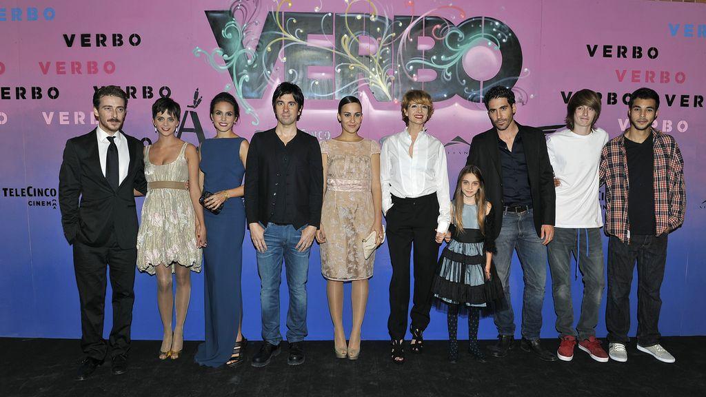 Making of de la première de 'Verbo'