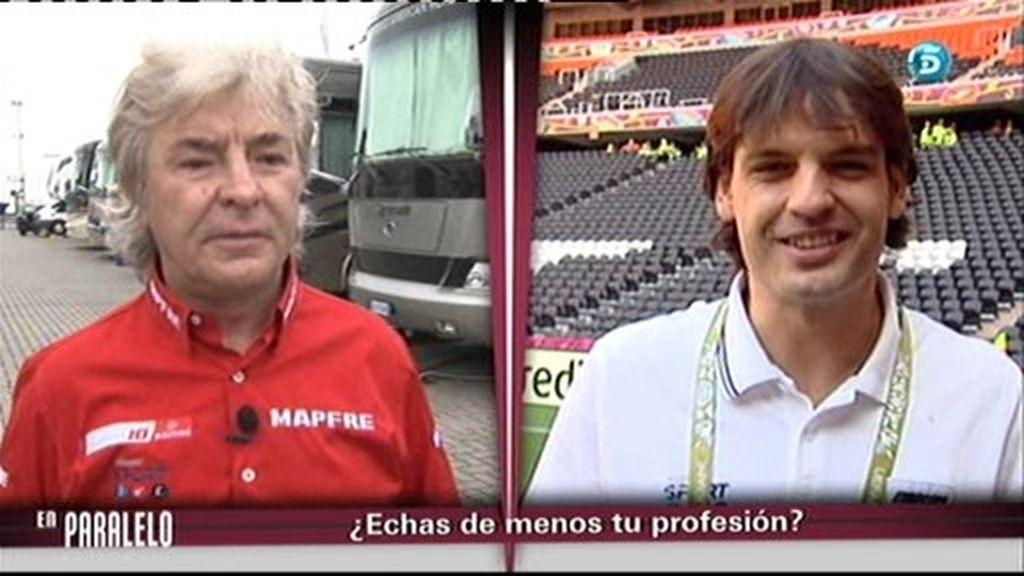 Ángel Nieto y Fernando Morientes, en paralelo