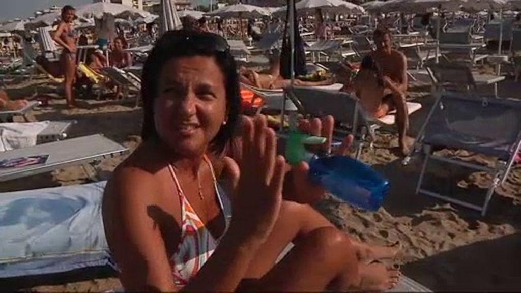 La Playa del Corazón en Rímini