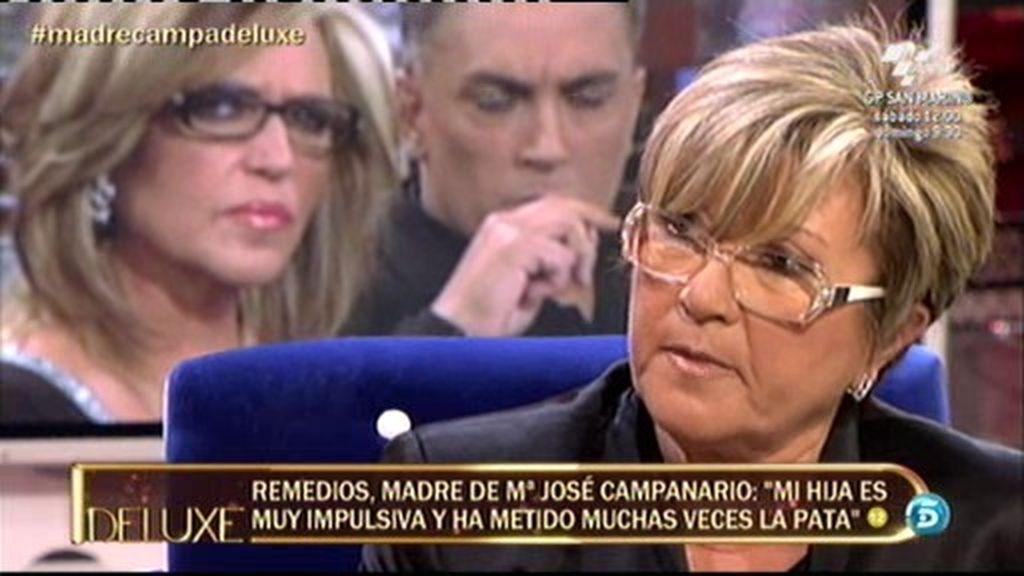 """Remedios Torres: """"Mi hija se ha derrumbado ante mí muchas veces"""""""