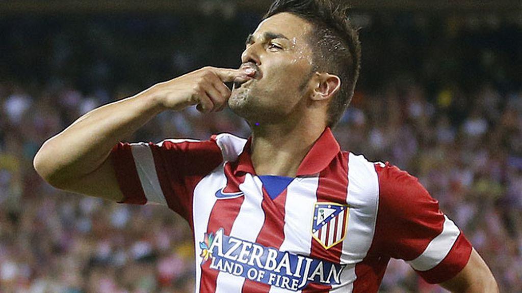 ¿Celebrará Villa el gol si marca esta noche?