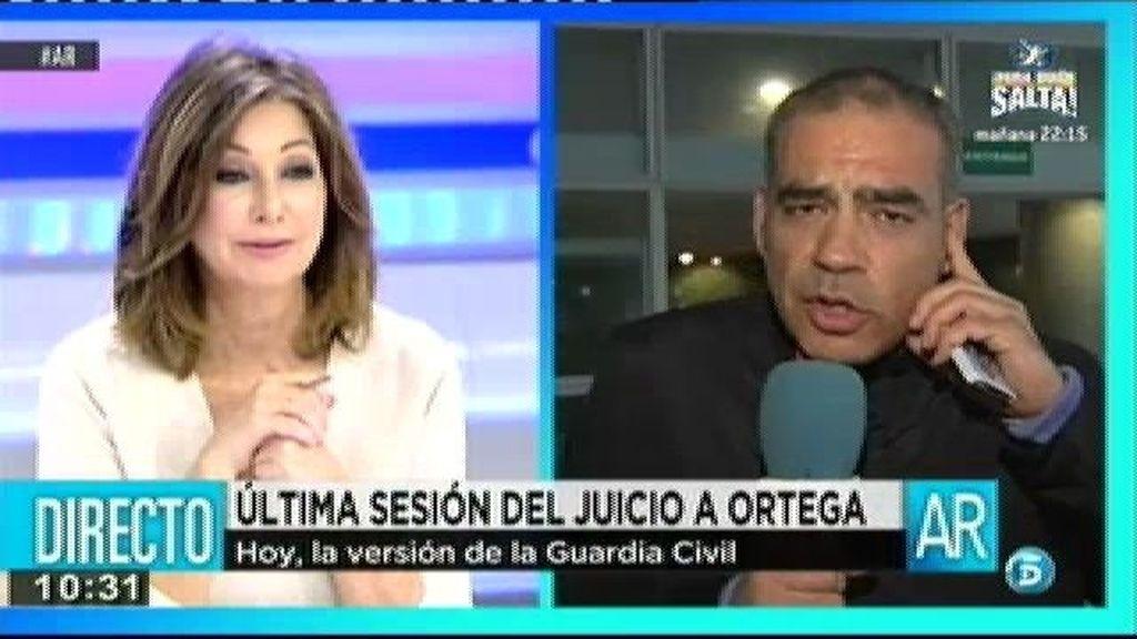 La juez no ha admitido que declaren el enfermero que sacó la sangre a Ortega y celador que la trasladó