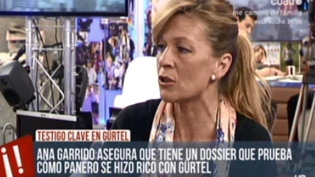 Ana Garrido, amenazada por destapar el caso Gürtel