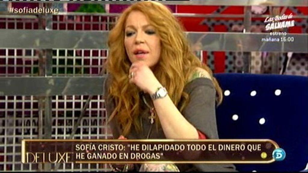 """Sofía Cristo: """"Mi padre me mandaba a comprarle cocaína"""""""